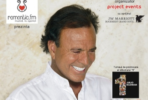 Julio Iglesias Concert at Arena Zone, Bucharest – June 30, 2012, 20:00