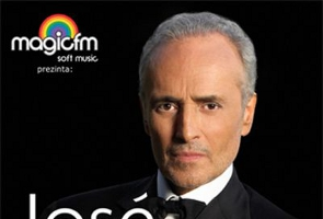 Jose Carreras will perform in Bucharest
